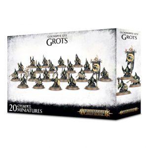 Games Workshop Age of Sigmar  Gloomspite Gitz Gloomspite Gitz Grots - 99120209046 - 5011921109968