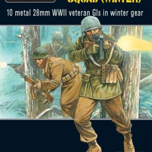 Warlord Games Bolt Action  United States of America (BA) US Army Veterans Squad (Winter) - 402213002 - 5060393704577