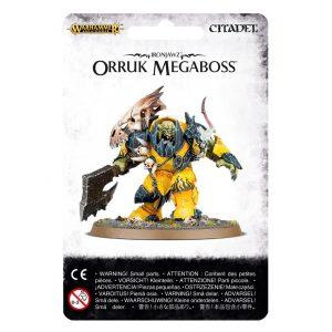 Games Workshop Age of Sigmar  Orruk Warclans Orruk Megaboss - 99070209003 - 5011921070251