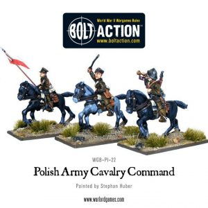 Warlord Games Bolt Action  Poland (BA) Polish Army Cavalry Command - WGB-PI-22 - 5060200849583