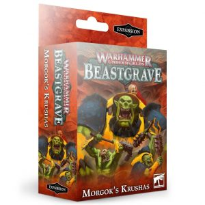 Games Workshop Age of Sigmar | Warhammer Underworlds  Warhammer Underworlds Warhammer Underworlds: Beastgrave Morgok's Krushas Warband - 60120709004 - 5011921130191