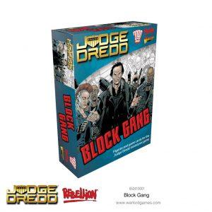 Warlord Games Judge Dredd  Judge Dredd Judge Dredd: Block Gang - 652410001 - 5060572505223