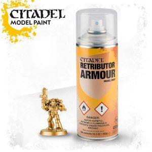 Games Workshop   Spray Paint GW Spray: Retributor Armour - 99209999071 - 5011921063550