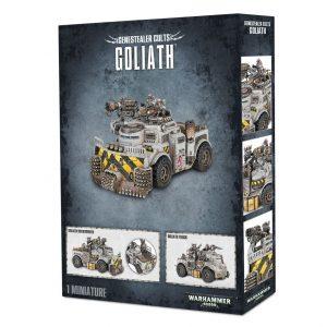 Games Workshop Warhammer 40,000  Genestealer Cults Genestealer Cult Goliath Truck / Rockgrinder - 99120117002 - 5011921077236