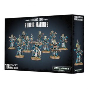 Games Workshop Warhammer 40,000  Thousand Sons Thousand Sons Rubric Marines - 99120102063 - 5011921079391