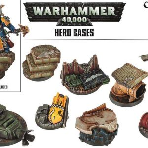 Games Workshop   Games Workshop Bases Warhammer 40K Hero Basing - 99120199046 - 5011921079865