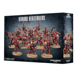 Games Workshop Warhammer 40,000  Chaos Space Marines Chaos Space Marine Khorne Berzerkers - 99120102005 - 5011921964567