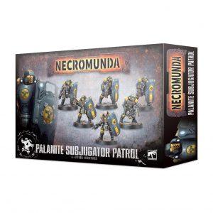 Games Workshop Necromunda  Necromunda Necromunda: Palanite Subjugator Patrol - 99120599012 - 5011921127689