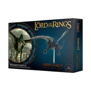 Games Workshop Middle-earth Strategy Battle Game  Evil - Lord of the Rings Lord of The Rings: Winged Nazgul - 99121466012 - 5011921109357