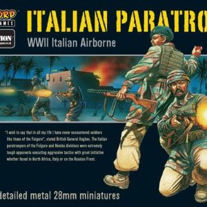 Warlord Games Bolt Action  Italy (BA) Italian Paratroopers (22) - WGB-IA-01 - 5060200840955