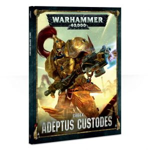 Games Workshop Warhammer 40,000  Adeptus Custodes Codex: Adeptus Custodes - 60030108012 - 9781788261357