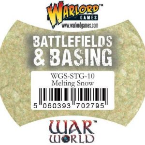 Warlord Games   Snow Warlord Scenics: Melting Snow - WGS-STG-10 - 5060393702795
