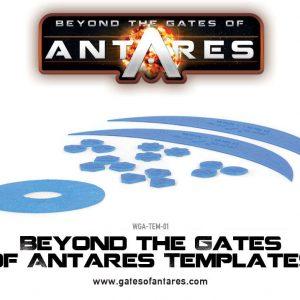 Warlord Games Beyond the Gates of Antares  Antares Essentials Beyond the Gates of Antares Templates - WGA-TEM-01 - 5060393702672