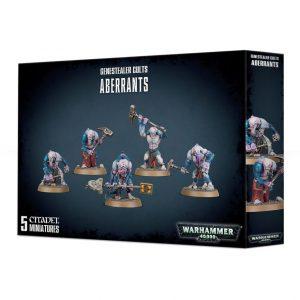 Games Workshop Warhammer 40,000  Genestealer Cults Genestealer Cults Aberrants - 99120117012 - 5011921111053