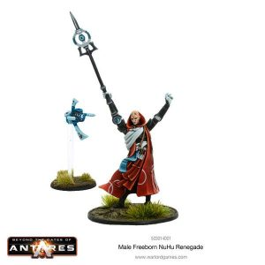 Warlord Games Beyond the Gates of Antares  Freeborn Freeborn NU Hu Renegade (Male) - 503014001 - 5060393704546