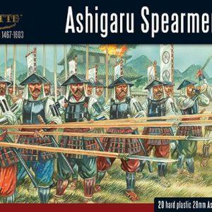 Warlord Games Pike & Shotte  Feudal Japan 1467-1603 Ashigaru Spearmen - 202014002 - 5060393706922
