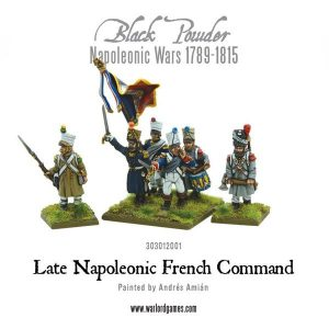 Warlord Games Black Powder  French (Napoleonic) Late French Command - 303012001 - 5060393704195
