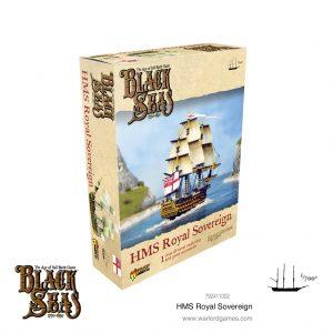 Warlord Games Black Seas  Black Seas Black Seas: HMS Royal Sovereign - 792411002 - 5060572505438