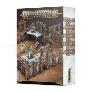 Games Workshop   Age of Sigmar Terrain Age of Sigmar: Azyrite Townscape - 99120299051 - 5011921110186