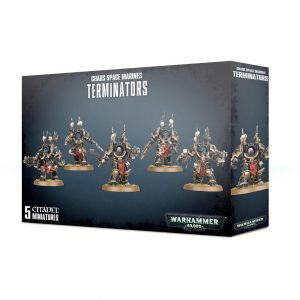 Games Workshop Warhammer 40,000  Chaos Space Marines Chaos Space Marine Terminator Squad - 99120102097 - 5011921114467