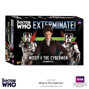 Warlord Games Doctor Who  Doctor Who Missy & The Cybermen Expansion - 602010102 - 5060393706724