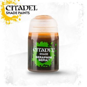 Games Workshop   Citadel Shade Shade: Seraphim Sepia (24ml) - 99189953026 - 5011921068852