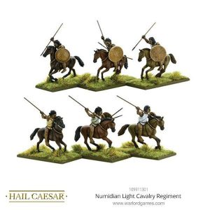Warlord Games Hail Caesar  Imperial Romans Numidian Cavalry Regiment - 109911301 -