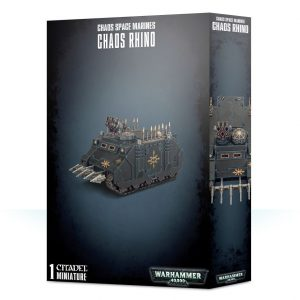 Games Workshop Warhammer 40,000  Chaos Space Marines Chaos Space Marine Rhino - 99120102092 - 5011921111138