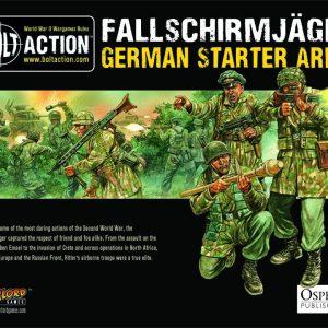 Warlord Games Bolt Action  Bolt Action Essentials Fallschirmjager Starter Army - WGB-START-11 - 5060393702245
