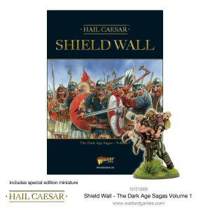 Warlord Games Hail Caesar  The Dark Ages Shield Wall - The Dark Age Sagas volume I - 101010067 -