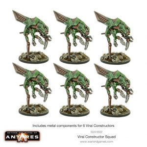 Warlord Games Beyond the Gates of Antares  Virai Dronescourge Virai Dronescourge Constructor squad - 502216501 - 5060393709770