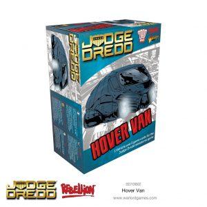 Warlord Games Judge Dredd  Judge Dredd Judge Dredd: Hover Van - 655109902 - 5060572505261