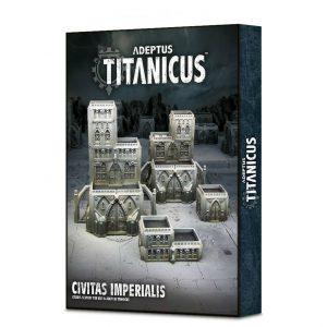Games Workshop Adeptus Titanicus  Adeptus Titanicus Adeptus Titanicus: Civitas Imperialis - 99120399003 - 5011921106783