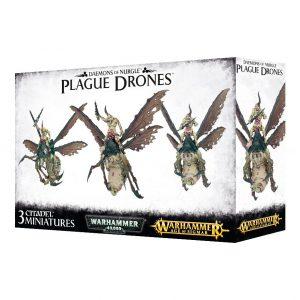 Games Workshop (Direct) Warhammer 40,000  Maggotkin of Nurgle Plague Drones of Nurgle - 99129915038 - 5011921085545