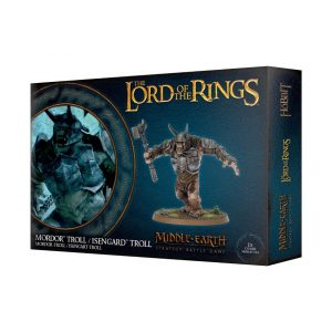 Games Workshop Middle-earth Strategy Battle Game  Evil - Lord of the Rings Lord of The Rings: Mordor Troll - 99121466008 - 5011921108381