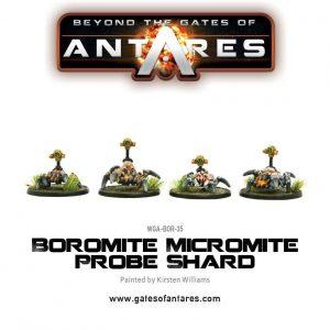 Warlord Games Beyond the Gates of Antares  Boromite Guilds Boromite Micromite probe shard - WGA-BOR-35 - 5060393703938