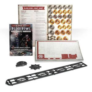 Games Workshop Blood Bowl  Blood Bowl Blood Bowl: Head Coaches Rules & Accessories - 60220999006 - 5011921122110