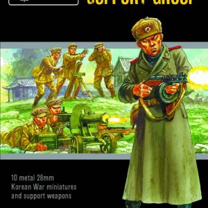 Warlord Games Bolt Action  Korean War (1950-1953) Korean War: Chinese PVA Support Group - 402218101 - 5060572503694