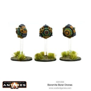 Warlord Games Beyond the Gates of Antares  Boromite Guilds Boromite Borer drones - WGA-BOR-503012006 -