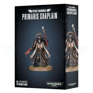 Games Workshop Warhammer 40,000  Space Marines Space Marines Primaris Chaplain - 99070101062 - 5011921999156