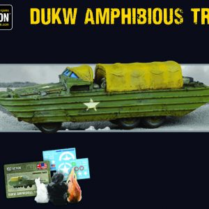 Warlord Games Bolt Action  Korean War (1950-1953) US DUKW Amphibious Truck - 402411301 - 5060572504561