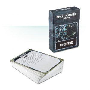 Games Workshop (Direct) Warhammer 40,000  Warhammer 40000 Essentials Warhammer 40,000: Open War Cards - 60220199011 - 5011921090754