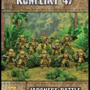Warlord Games Konflikt '47  Japan (K47) Japanese Battle Exoskeleton Squad - 452211203 - 5060393707967