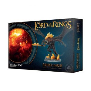 Games Workshop Middle-earth Strategy Battle Game  Evil - Lord of the Rings Lord of The Rings: The Balrog - 99121466010 - 5011921109234
