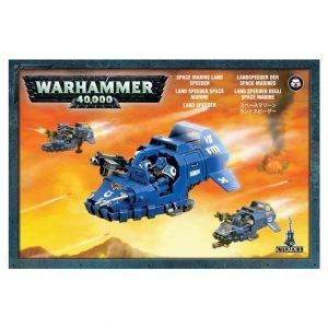 Games Workshop (Direct) Warhammer 40,000  Blood Angels Space Marine Land Speeder - 99120101071 - 5011921010585