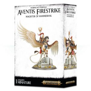 Games Workshop (Direct) Age of Sigmar  Stormcast Eternals Aventis Firestrike, Magister of Hammerhal - 99120218037 - 5011921104611