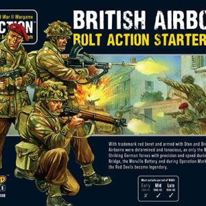 Warlord Games Bolt Action  Great Britain (BA) British Airborne Starter Army - 409911101 - 5060393706212
