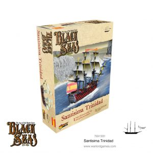 Warlord Games Black Seas  Black Seas Black Seas: Santisima Trinidad - 792413001 - 5060572505353
