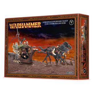 Games Workshop (Direct) Age of Sigmar  Age of Sigmar Direct Orders Dark Elf Scourgerunner / Drakespawn Chariot - 99120212012 - 5011921048687