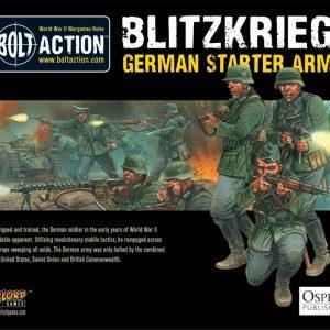 Warlord Games Bolt Action  Germany (BA) 1000pts Blitzkrieg German Army - 409912022 - 5060200846780